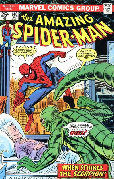 Cover for The Amazing Spider-Man (Marvel, 1963 series) #146