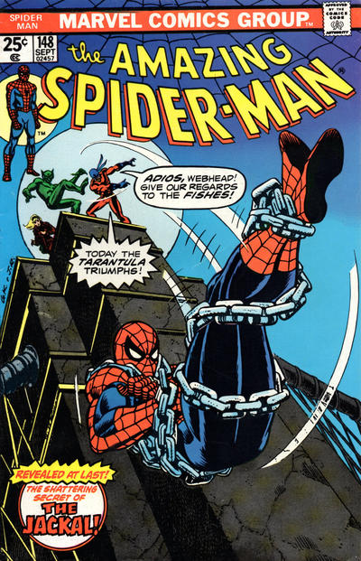 Cover for The Amazing Spider-Man (Marvel, 1963 series) #148