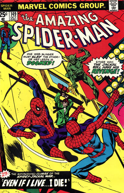 Cover for The Amazing Spider-Man (Marvel, 1963 series) #149
