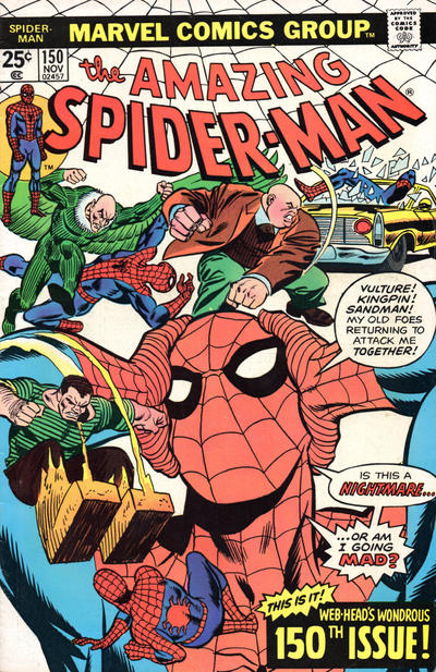 Cover for The Amazing Spider-Man (Marvel, 1963 series) #150