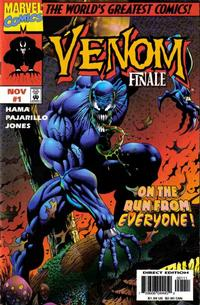 Cover Thumbnail for Venom: The Finale (Marvel, 1997 series) #1