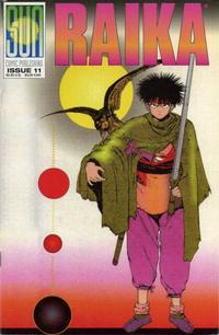 Cover Thumbnail for Raika (Sun Comic Publishing, 1992 series) #11