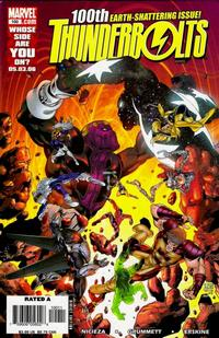 Cover Thumbnail for Thunderbolts (Marvel, 2006 series) #100