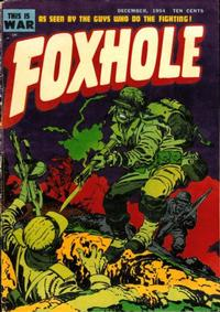 Cover Thumbnail for Foxhole (Mainline, 1954 series) #2