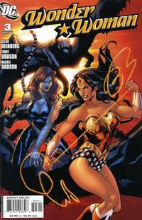 Cover Thumbnail for Wonder Woman (DC, 2006 series) #3