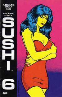 Cover Thumbnail for Sushi (Shunga Comix, 1990 series) #6