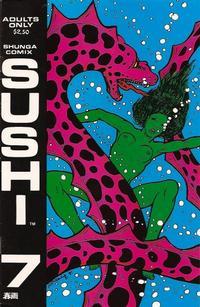 Cover Thumbnail for Sushi (Shunga Comix, 1990 series) #7