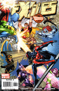 Cover Thumbnail for Exiles (Marvel, 2001 series) #77 [Direct Edition]