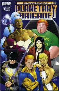 Cover Thumbnail for Planetary Brigade (Boom! Studios, 2006 series) #1