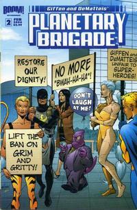 Cover Thumbnail for Planetary Brigade (Boom! Studios, 2006 series) #2