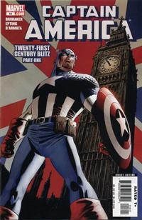 Cover Thumbnail for Captain America (Marvel, 2005 series) #18