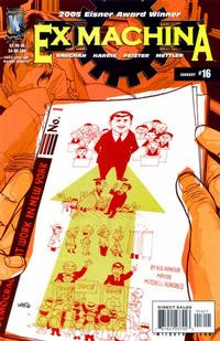Cover Thumbnail for Ex Machina (DC, 2004 series) #16
