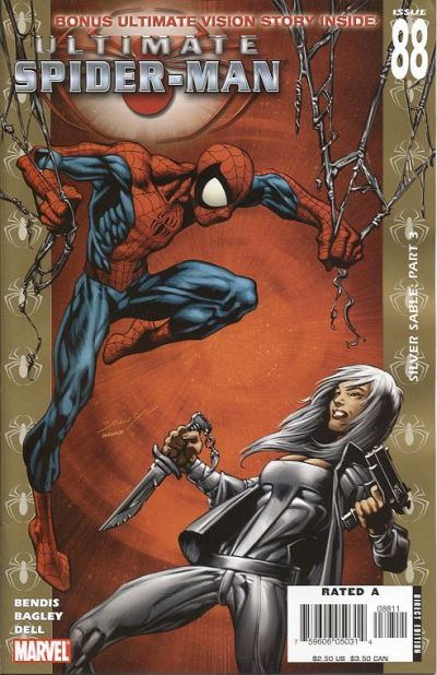 Cover for Ultimate Spider-Man (Marvel, 2000 series) #88