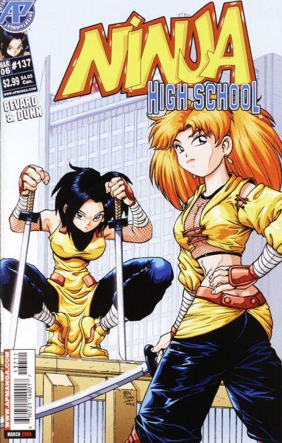 Cover for Ninja High School (Antarctic Press, 1994 series) #137