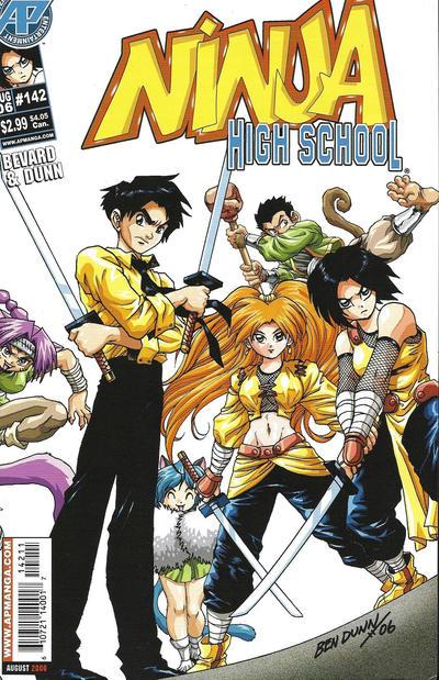 Cover for Ninja High School (Antarctic Press, 1994 series) #142