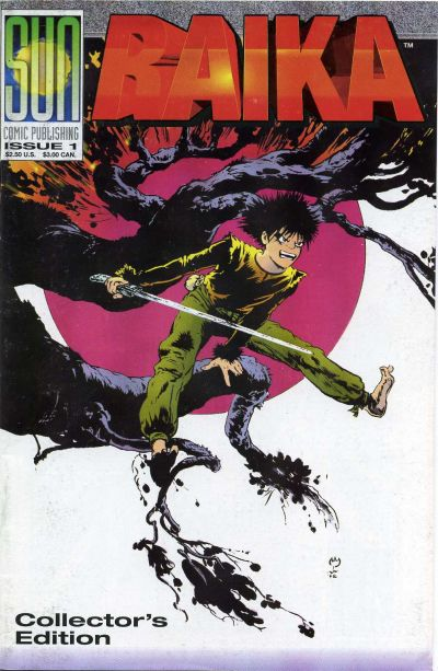 Cover for Raika (Sun Comic Publishing, 1992 series) #1