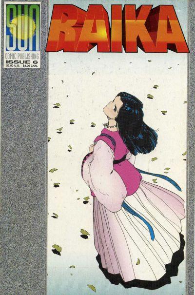 Cover for Raika (Sun Comic Publishing, 1992 series) #6