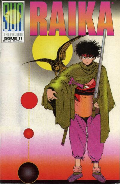 Cover for Raika (Sun Comic Publishing, 1992 series) #11