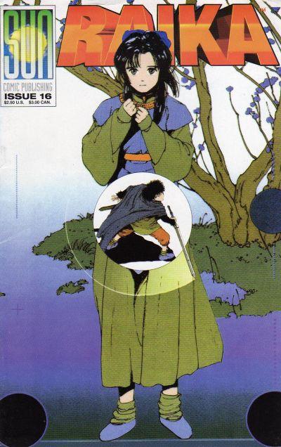 Cover for Raika (Sun Comic Publishing, 1992 series) #16