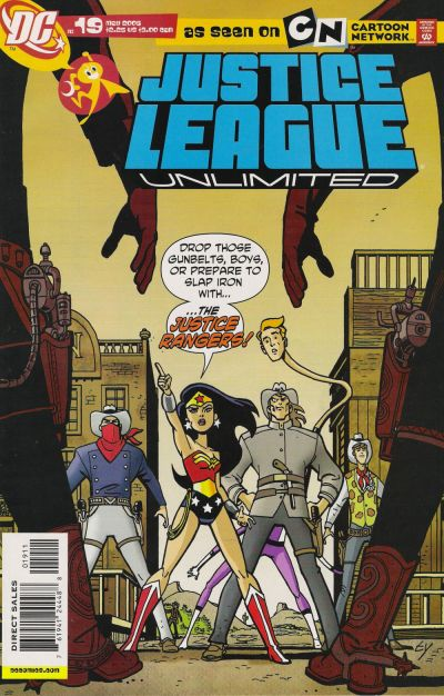 Cover for Justice League Unlimited (DC, 2004 series) #19