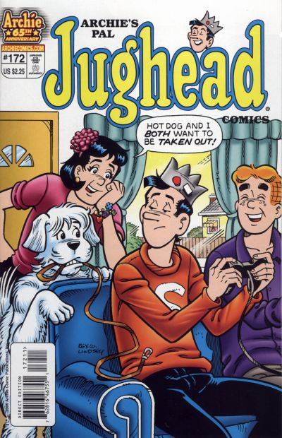 Cover for Archie's Pal Jughead Comics (Archie, 1993 series) #172