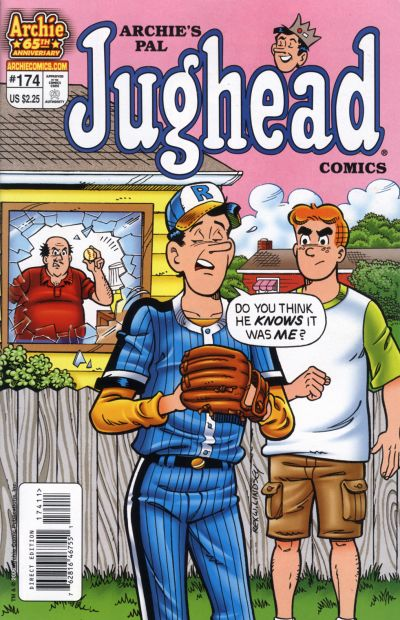 Cover for Archie's Pal Jughead Comics (Archie, 1993 series) #174