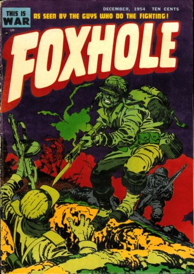 Cover for Foxhole (Mainline, 1954 series) #2