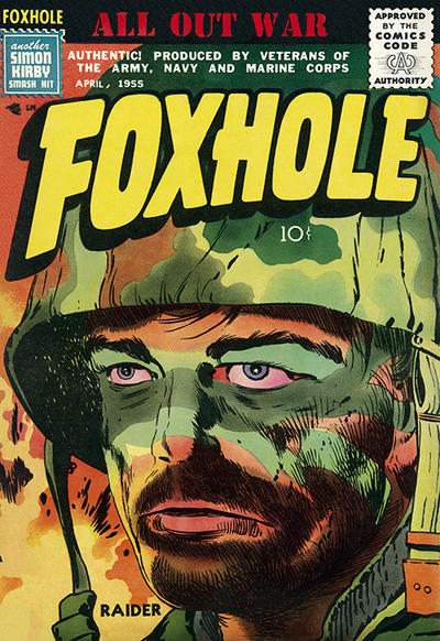 Cover for Foxhole (Mainline, 1954 series) #4