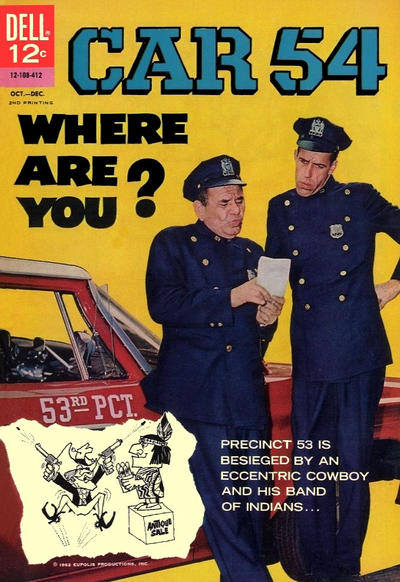 Cover for Car 54, Where Are You? [2nd Printing] (Dell, 1964 series) #3