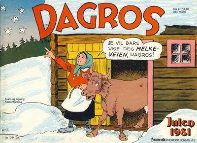 Cover for Dagros (Semic, 1979 series) #1981