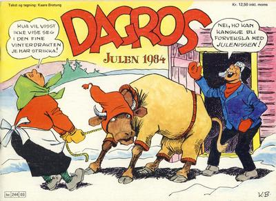 Cover for Dagros (Semic, 1979 series) #1984