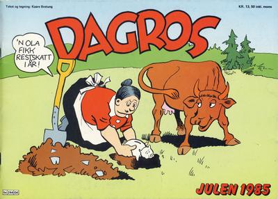 Cover for Dagros (Semic, 1979 series) #1985