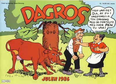 Cover for Dagros (Semic, 1979 series) #1986