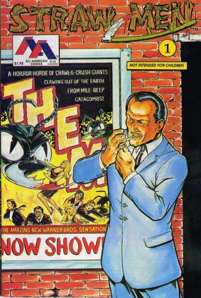 Cover for Straw Men (Innovation, 1989 series) #1