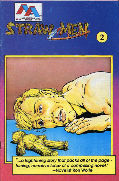 Cover for Straw Men (Innovation, 1989 series) #2