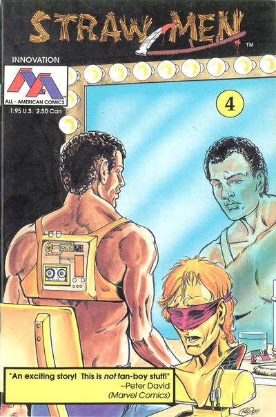 Cover for Straw Men (Innovation, 1989 series) #4