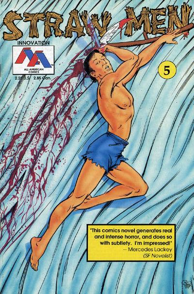 Cover for Straw Men (Innovation, 1989 series) #5