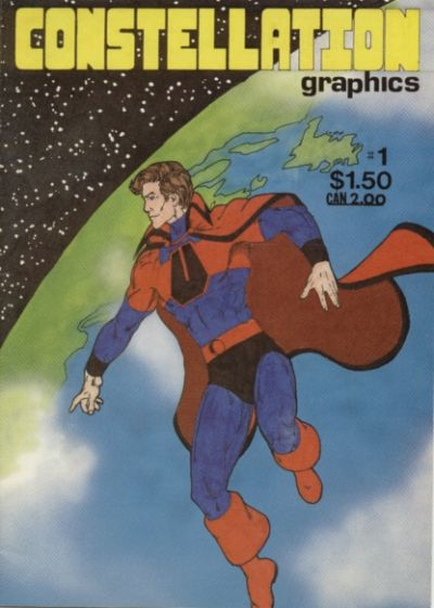 Cover for Constellation Graphics (Stages Comics, 1986 series) #1