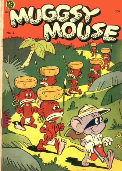Cover for Muggsy Mouse (Magazine Enterprises, 1951 series) #2