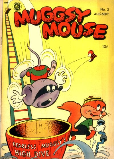 Cover for Muggsy Mouse (Magazine Enterprises, 1951 series) #3