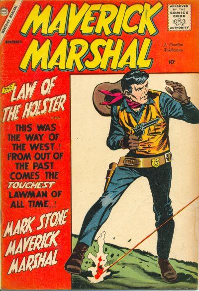 Cover for Maverick Marshal (Charlton, 1958 series) #1