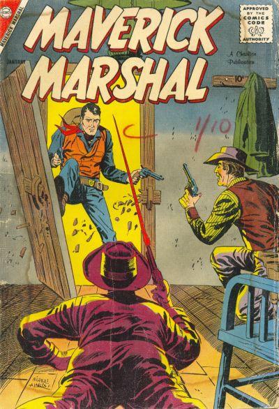 Cover for Maverick Marshal (Charlton, 1958 series) #2