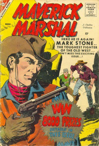 Cover for Maverick Marshal (Charlton, 1958 series) #3