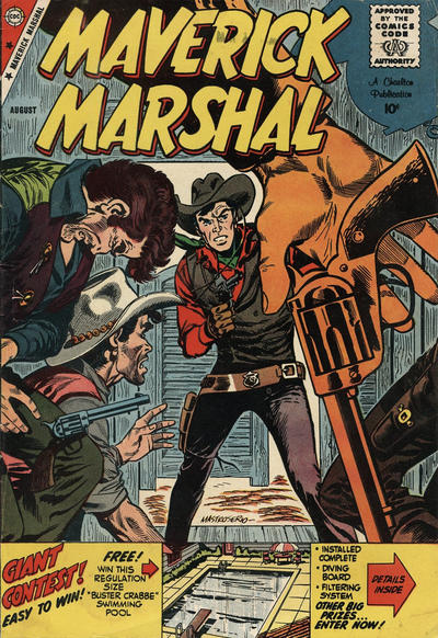 Cover for Maverick Marshal (Charlton, 1958 series) #5