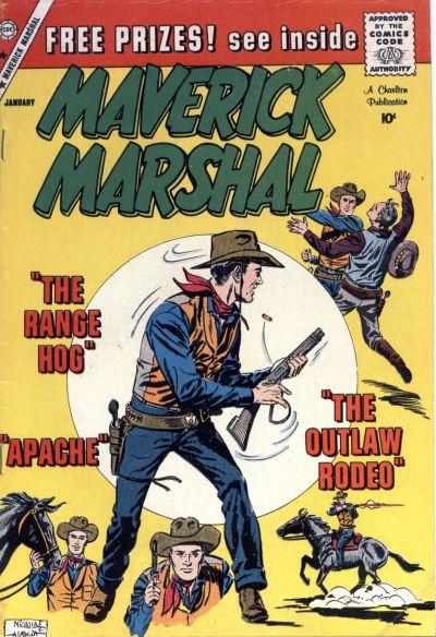 Cover for Maverick Marshal (Charlton, 1958 series) #7
