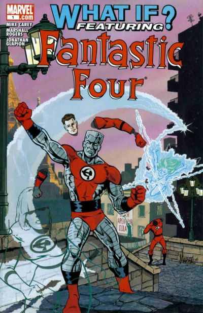 Cover for What If: Fantastic Four (Marvel, 2006 series) #1