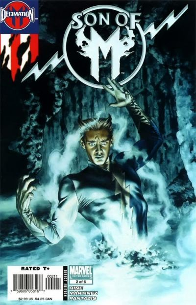 Cover for Son of M (Marvel, 2006 series) #2