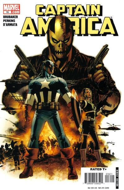 Cover for Captain America (Marvel, 2005 series) #16