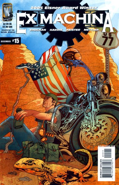 Cover for Ex Machina (DC, 2004 series) #15