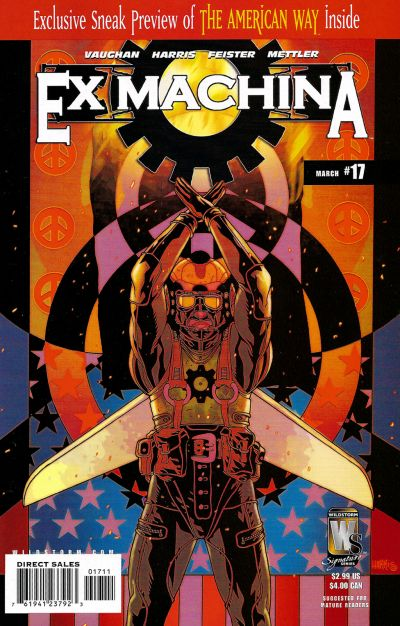 Cover for Ex Machina (DC, 2004 series) #17